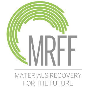 Materials Recovery for the Future logo.