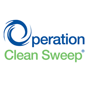 Operation Clean Sweep logo.