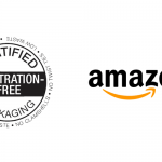 Amazon logo and certified frustration free stamp.