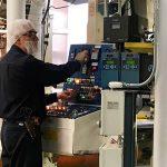 Printpack technician working