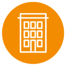 tCorporate Headquarters icone Packaging icon