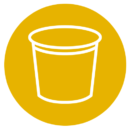 rigid packaging icon