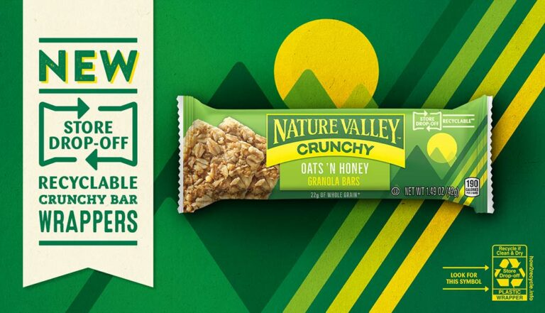Nature Valley Recyclable Crunch Bar Wrappers