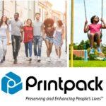 ad highlighting new Printpack tagline