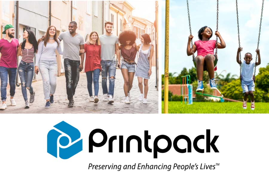 """Printpack Announces Official Launch of a New Tagline """"Preserving and Enhancing People's Lives"""""""