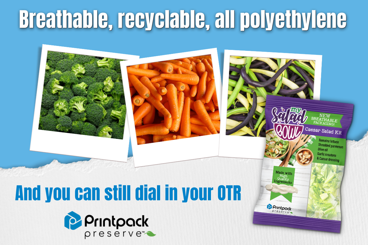 Printpack Expands Line of How2Recycle Ready Breathable Films for Produce