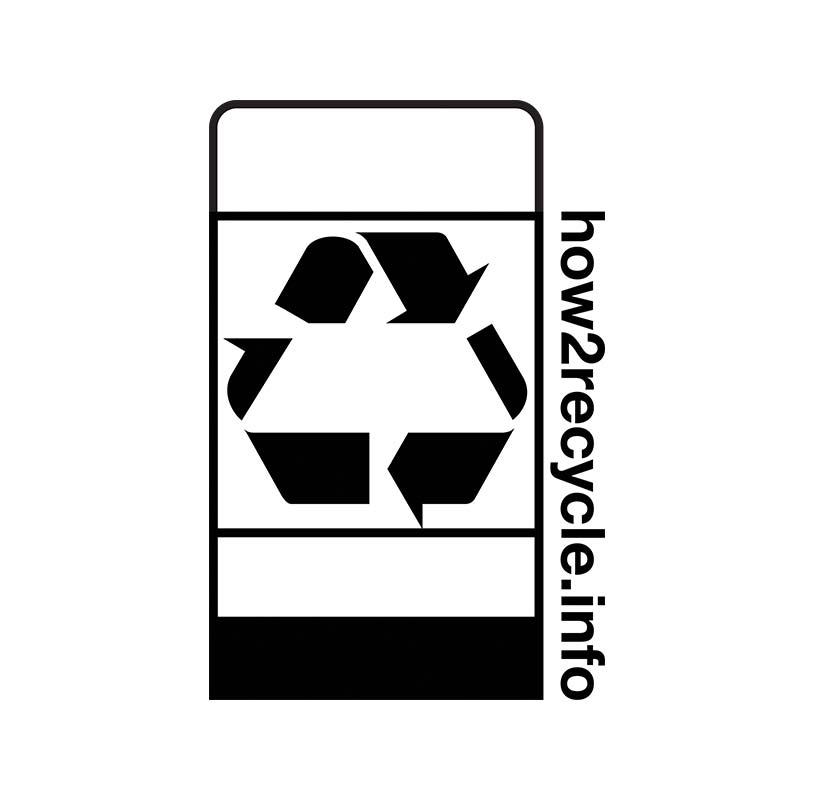 How 2 Recycle logo