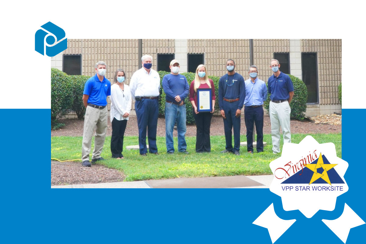 Printpack's Williamsburg Plant Receives VPP Star Certification
