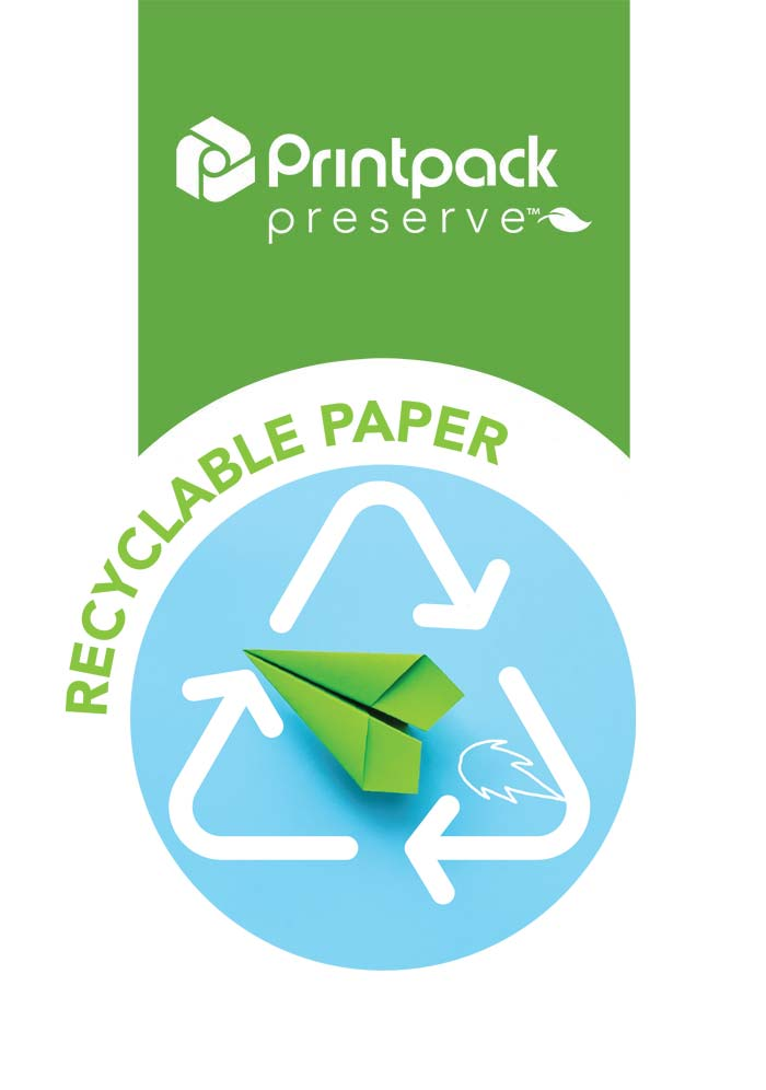 Printpack Preserve Recyclable Paper icon